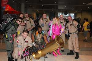 Ghostbusters, B.A. Baracus, and More Juliet.
