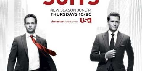 "The highly anticipated season premiere of ""Suits"""