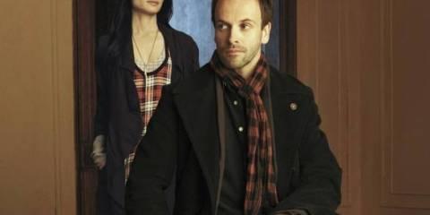The new Sherlock Holmes (Jonny Lee Miller) and Dr. Joan Watson (Lucy Liu)