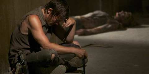 "Daryl (Norman Reedus) makes the most impact with the least screentime in ""Hounded"""