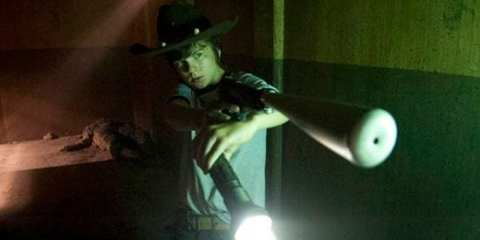 Carl steps up while Rick's away rescuing Glenn and Maggie