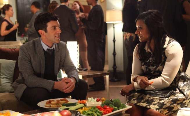 "B.J. Novak guest stars as a new love interest for Mindy in ""Harry & Sally"""