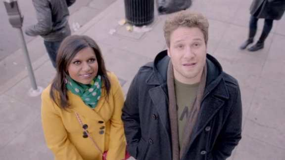 Seth Rogen guest stars as Sam on this week's episode of The Mindy Project
