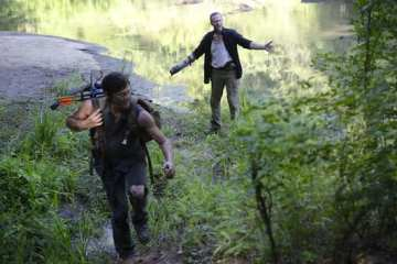"""Daryl (Norman Reedus) and Merle (Michael Rooker) end up with some of the best scenes of the episode in """"Home."""""""