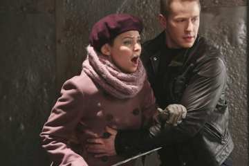 Snow (Ginnifer Goodwin) and Charming (Josh Dallas) learn a harsh lesson from Cora.