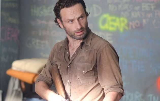 Rick runs into an old friend on his run into town with Carl and Michonne
