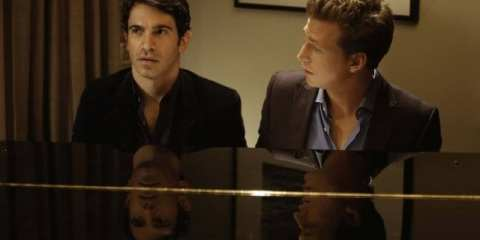 Josh Meyers guest stars as Mindy's new date, Adam, a singer/songwriter/prostitute.