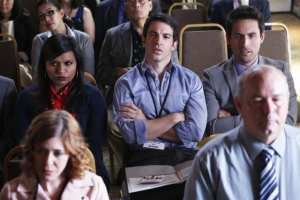 Mindy, Danny, and Jeremy attend a medical conference in Santa Fe