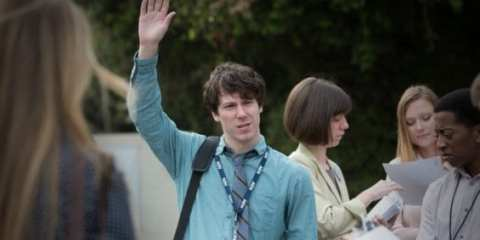 Jim (John Gallagher Jr.) struggles in New Hampshire.