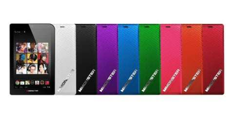 monster m7 tablet colors