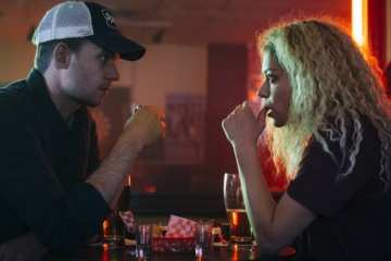 Helena (Tatiana Maslany) makes a friend in this weeks episode of Orphan Black.