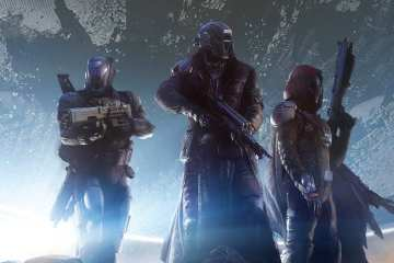 Destiny Game Guardians Characters Titan Warlock and Hunter Wallpaper