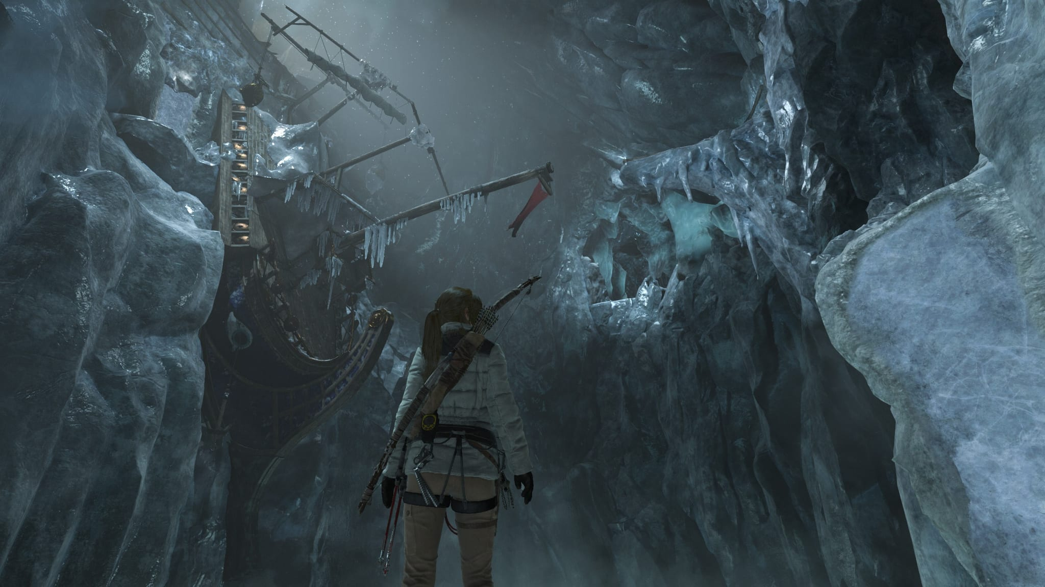 how to turn water off rise of tomb raider
