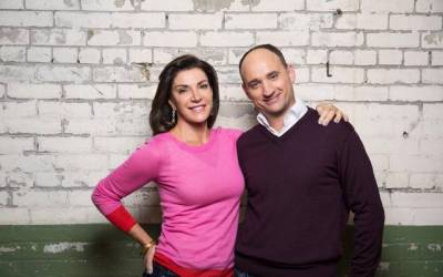 """Hillary Farr and David Visentin, hosts of HGTV's """"Love It or List It"""""""