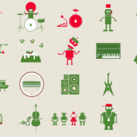 The Festive Funk Machine, a fun way to make holiday music online