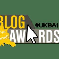 Blazing Minds up for a Blog Award #UKBA15