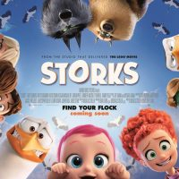 Win Official Storks Movie Merchandise