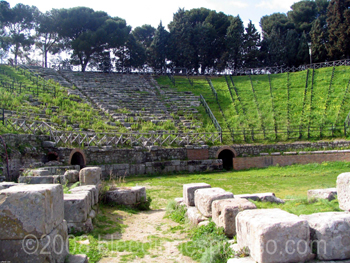 Amphitheater in Tindari, Sicily on Flickr