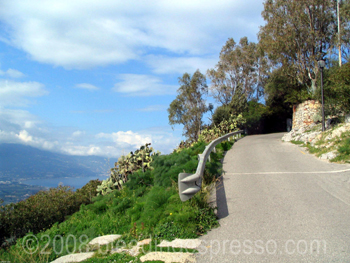 Road to the ruins, Tindari, Sicily on Flickr