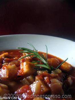 Mediterranean Eggplant Soup on Flickr