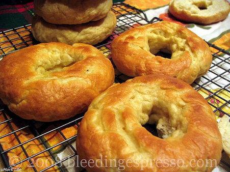 Bagels cooling off