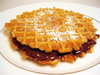 Nutella Pizzelle Sandwich