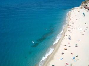Tropea, Lara and Terry's favorite Calabrian beach