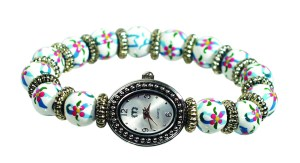 Ovarian Cancer Awareness watch by Angela Moore