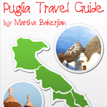 Puglia Travel Guide App by Martha Bakerjian