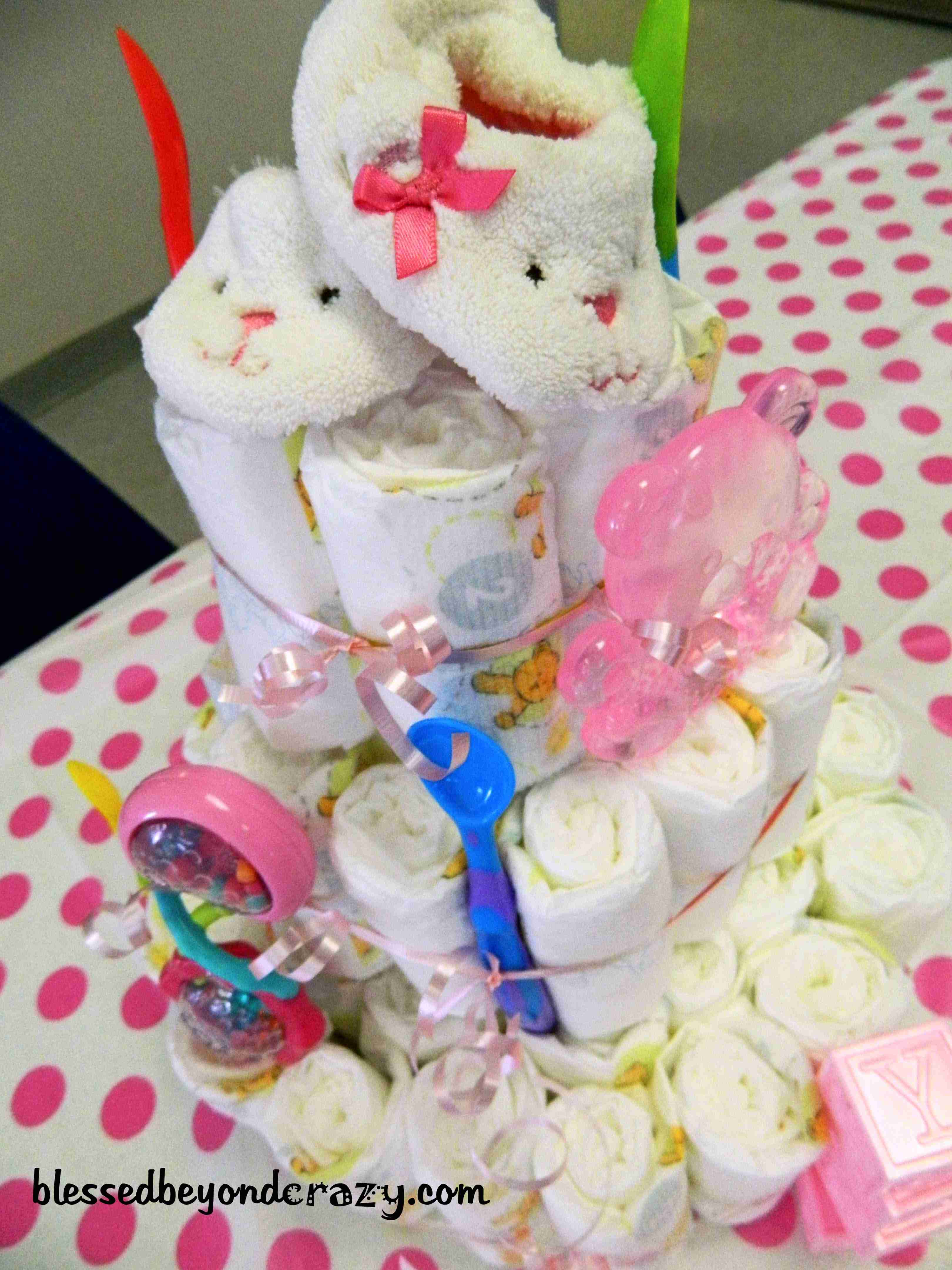 Baby Shower Cakes Games ~ Baby shower charades diy diaper cake