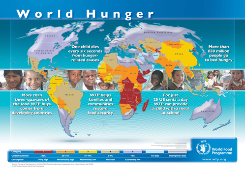 We need food for world's poor people
