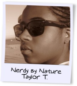 nerdy by nature taylor t. logo blinging beauty