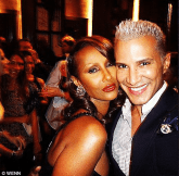 Iman and Jay Manuel at Destination Iman Launch Party September 7 2012