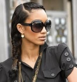 fishtail braid with stunners