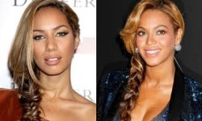 leona lewis and beyonce fishtail braids