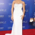 Jordin Sparks in Chagoury Couture at Sparkle Hollywood Premier