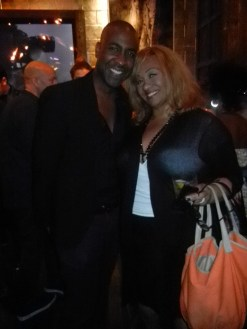 Tracey and Valente Frazier and Destination Iman Launch Party