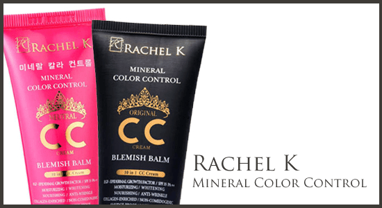 RachelK Mineral Color Control CC Cream 39.99