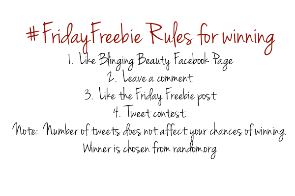 friday freebie rules