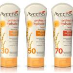 Aveeno Hydrate and Protect SPF 30, 50, 70