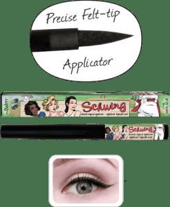 thebalm schwing liquid eyeliner