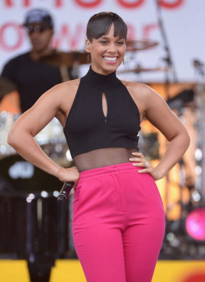 alicia-keys-gma Photo by Michael Loccisano-Getty Images