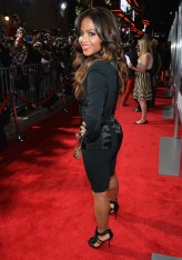 Actress Christina Milian attends the premiere of Fox Searchlight Pictures' 'Baggage Claim' 3