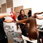 New York Fashion week spring 2014 Hair How-to for Ann Yee Spring-Summer Show with Aveda