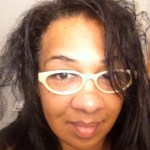 My hair before flat ironing and using Unite Luxury Argan oil