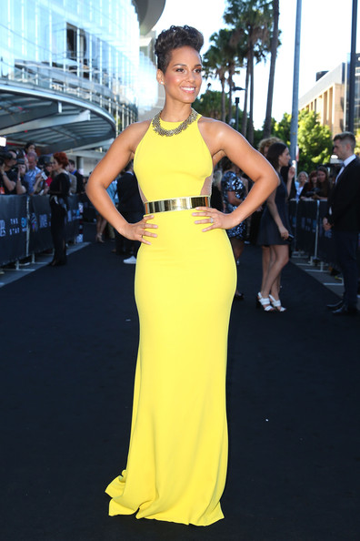 Alicia Keys arrives at the 27th Annual ARIA Awards 2013 at the Star on December 1 2013 Brendon Thorne/Getty Images AsiaPac