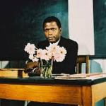 Sidney Poitier  in Blackboard Jungle