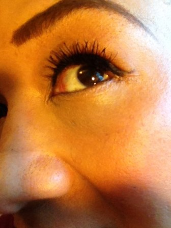 After -- 2 Coats of Too Faced Better Than Sex mascara