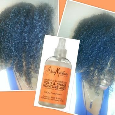 SheaMoisture Coconut & Hibiscus Hold & Shine Moisture Mist product review blinging beauty