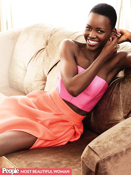 Lupita Nyong'o is People's Magazine Most Beautiful Photo credit: people.com